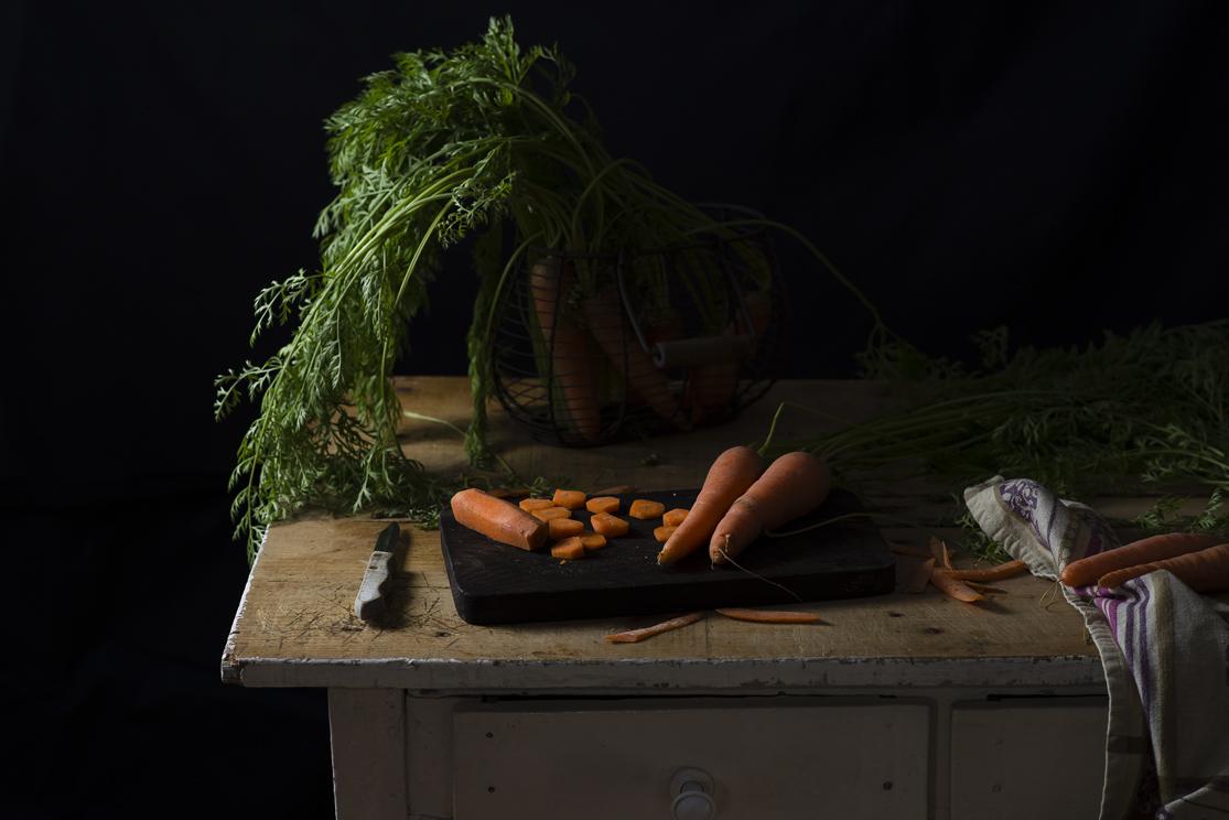 Bizcocho de zanahoria esponjoso