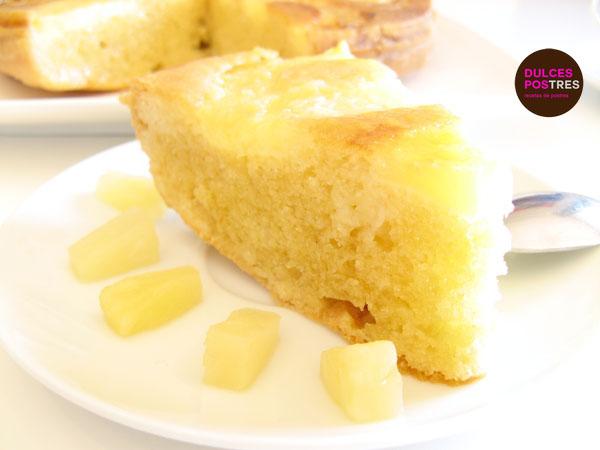 tarta de piña muy irresistible