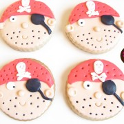 Galletas de mantequilla piratas