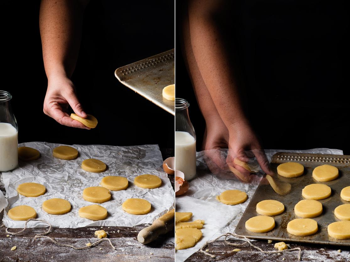 Decoración de las galletas de mantequilla