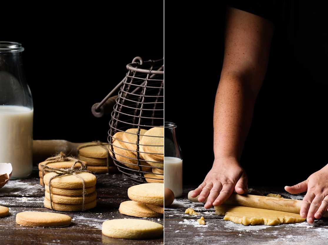 Galletas de mantequilla paso a paso
