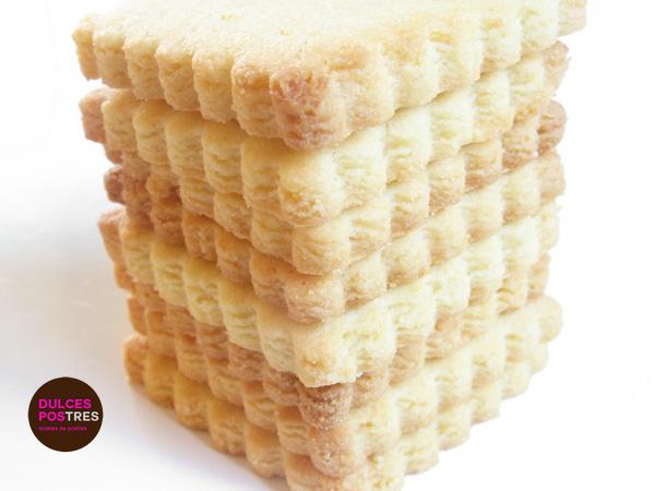 Galletas caseras con masa sablée
