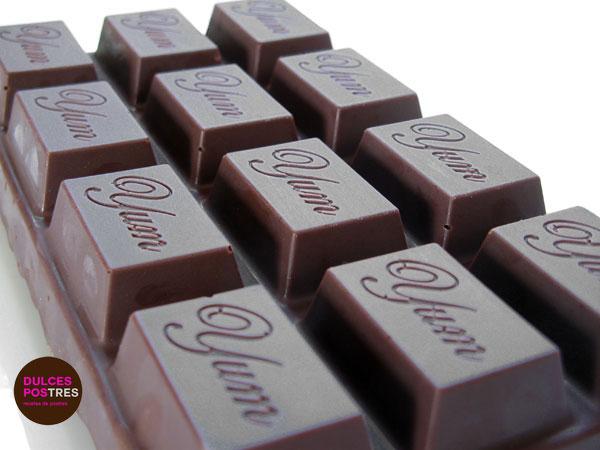 Tableta de Turrón de chocolate casero