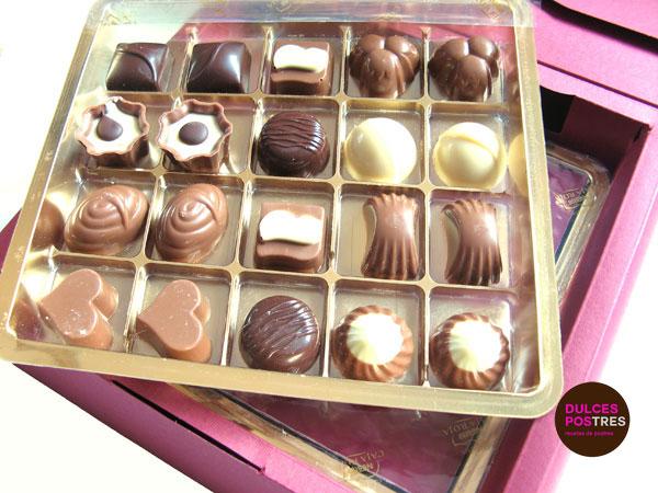 Díselo con Chocolate detalle caja de bombones