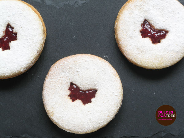 Receta de galletas Jammy Dodgers