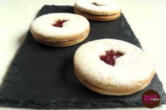 Receta de galletas Jammy Dodgers