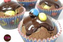 Receta Muffins de Chocolate con mms