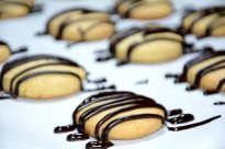 Receta de galletas de naranja con chocolate