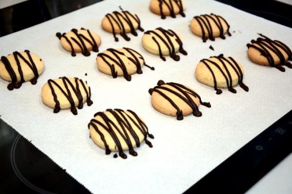 Galletas De Naranja Con Chocolate Dulcespostrescom