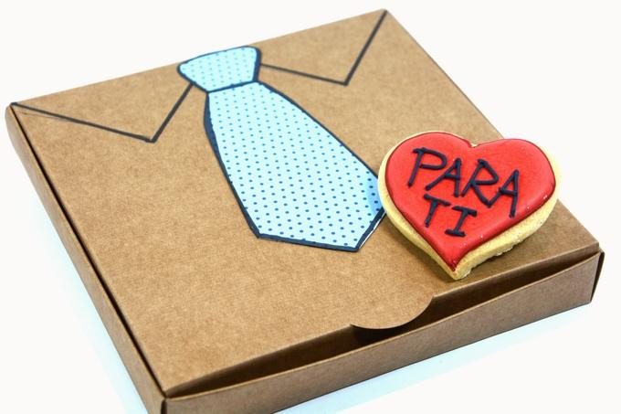 Detalle galletas día del padre