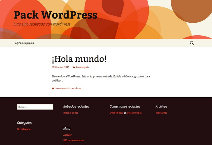 Crear blog en wordpress con cPanel final