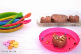 Receta de cuajada de chocolate - Dulcespostres.com