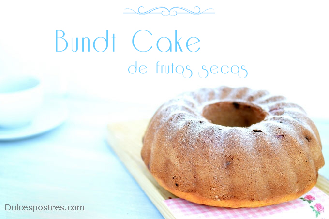 Bundt Cake de frutos secos