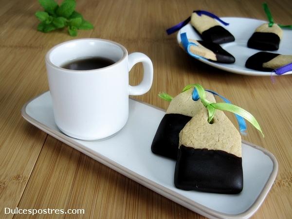 Receta de pastas de té