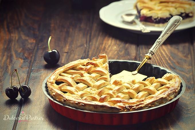 Receta de Twin Peaks cherry pie