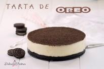 Receta Tarta de Oreo - Dulcespostres.com