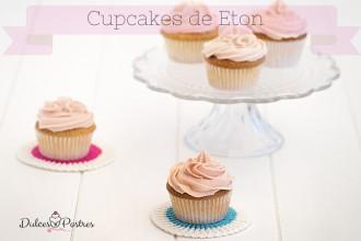 Cupcakes de Eton -Dulcespostres.com