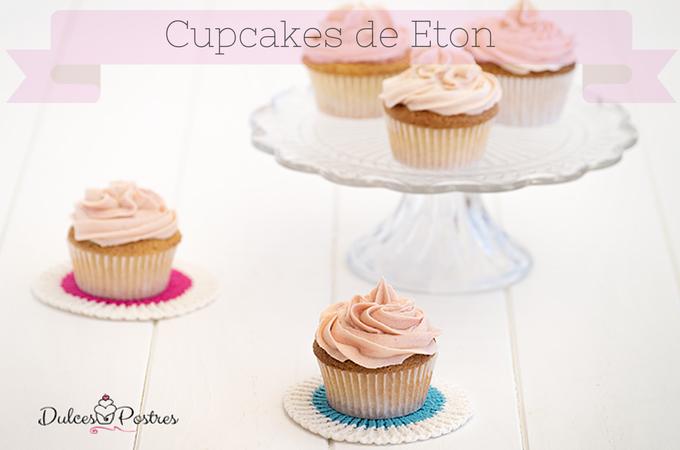 Cupcakes de Eton