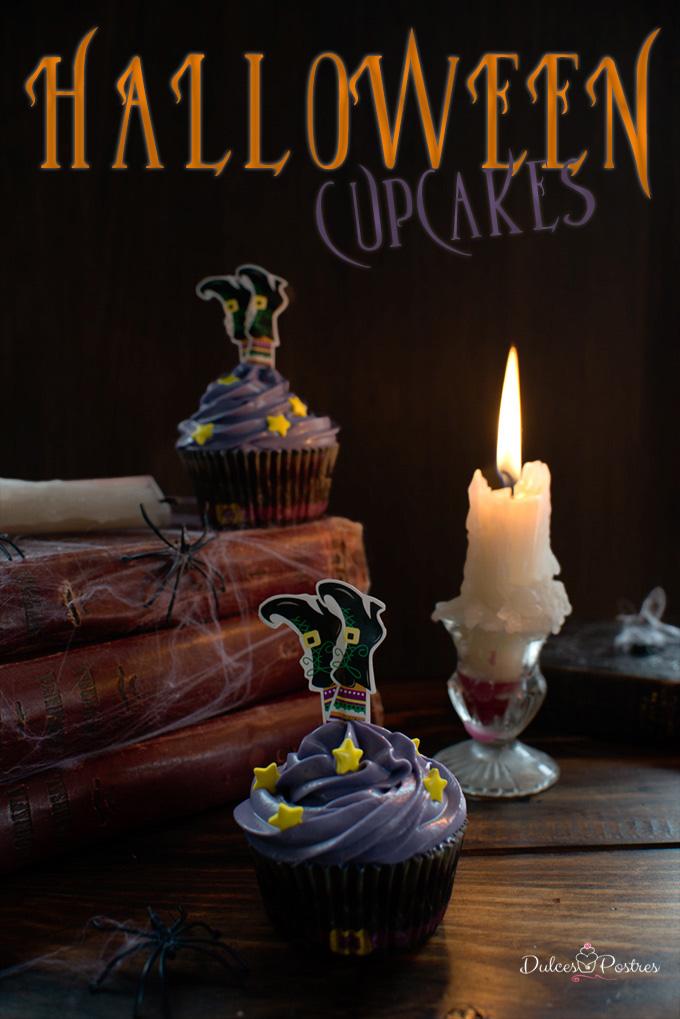Receta de Cupcakes Halloween
