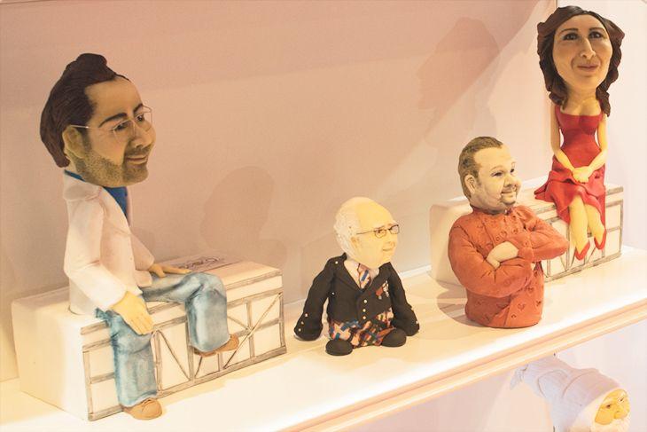 Personajes de fondant de Barroco Cakes