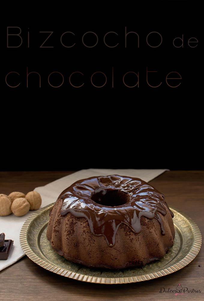 Foto bizcocho de chocolate