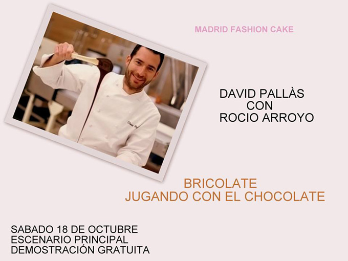 David Pallás Curso Madrid Fashion Cake 2014