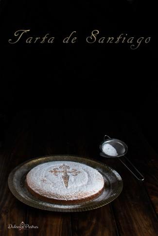 Receta de Tarta de Santiago - Dulcespostres.com