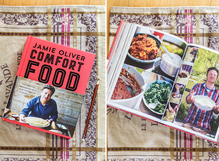 Libro de Jamie Oliver's Comfort Food