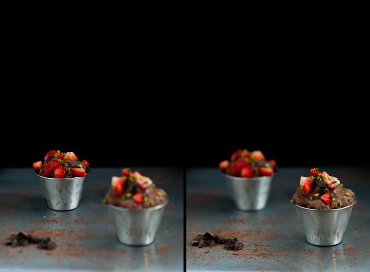 Como hacer mousse de chocolate con sifon