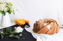 Receta de Bundt cake de naranja