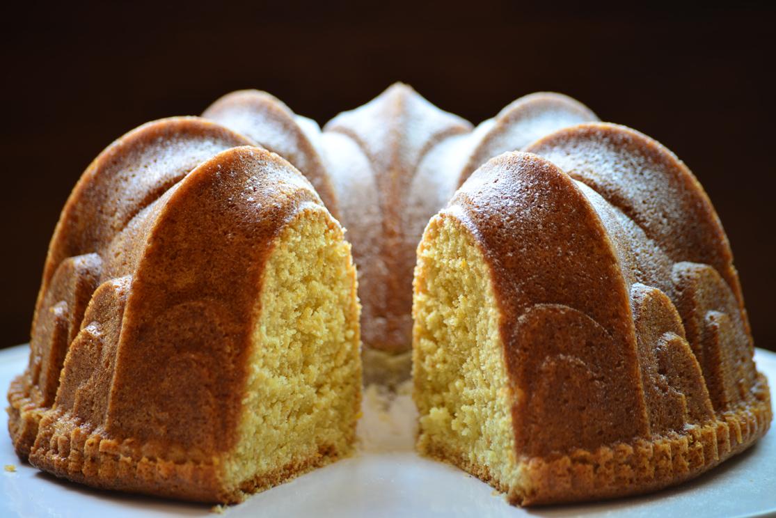 Bizcocho de Limón y Jengibre - Molde Bundt Cake