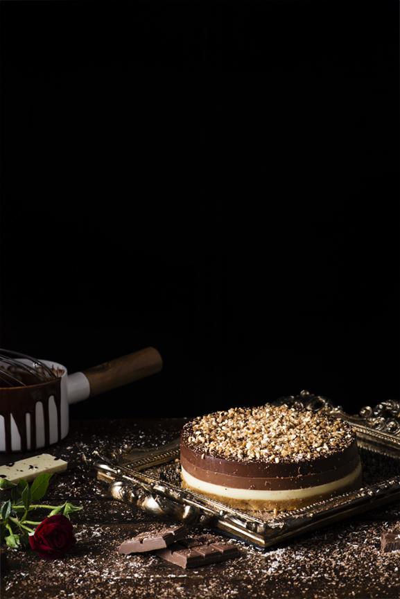 Tarta a los tres chocolates Nestlé Postres