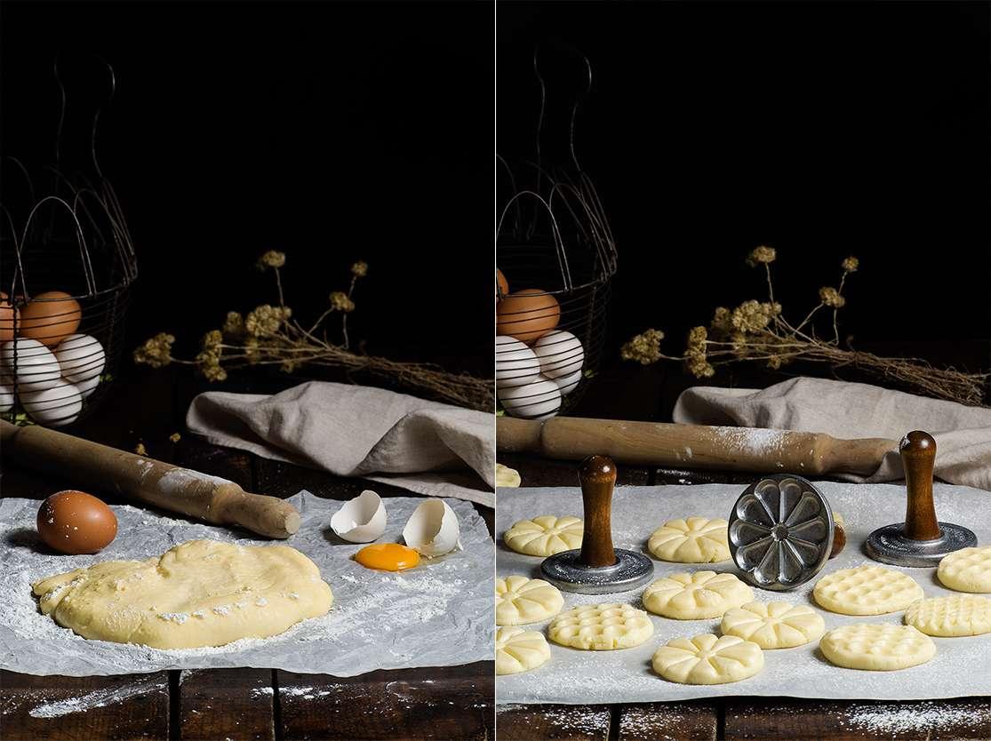 Masa de galletas sin gluten