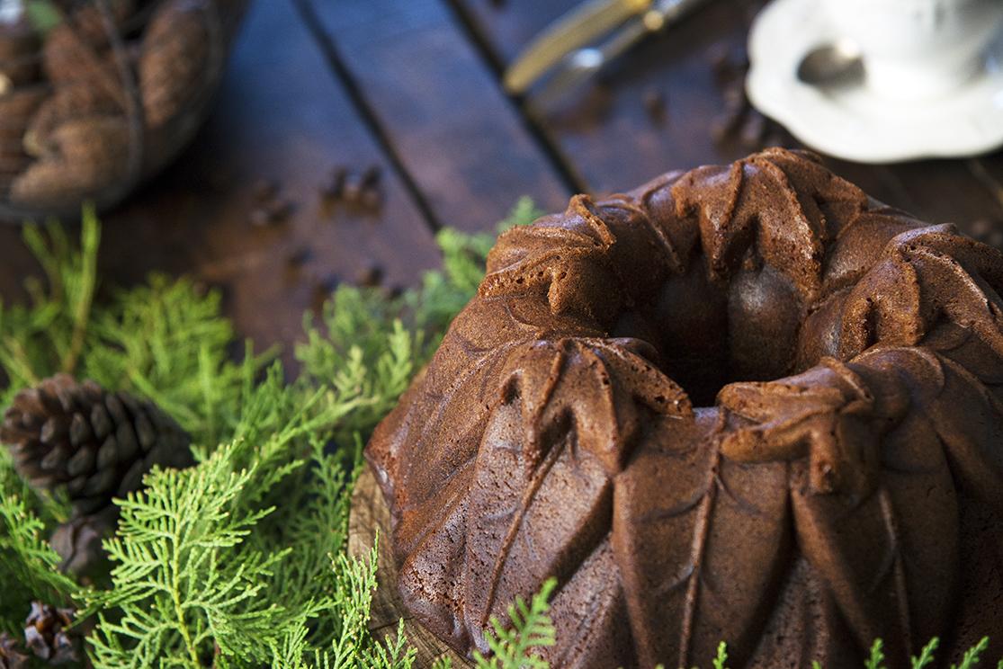 Como elaborar un bund cake de turrón y café