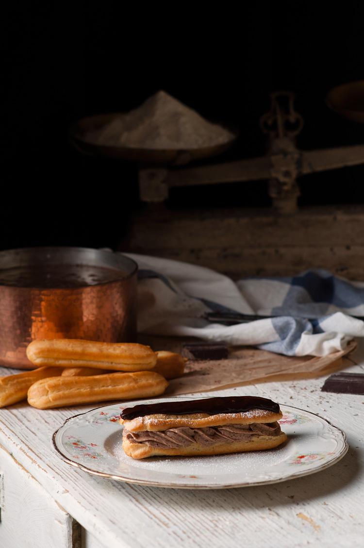 Receta de pasta Choux para Éclairs