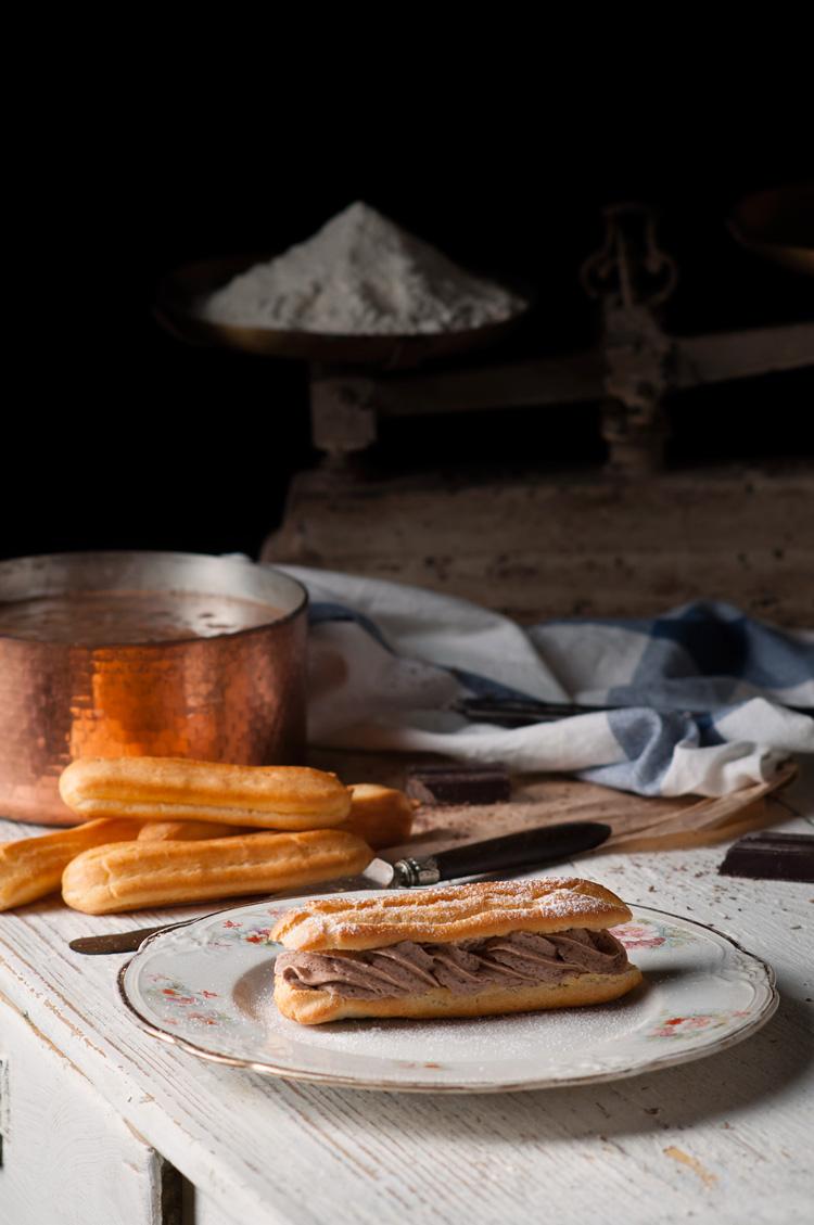 Cómo hacer pasta Choux para eclairs