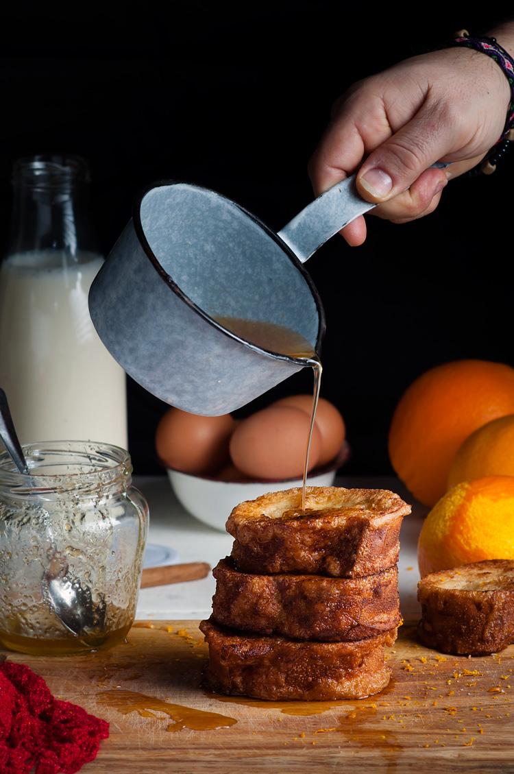 Como hacer torrijas de leche